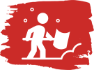 Snow Shoveling Icon