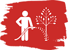 Watering Tree Icon